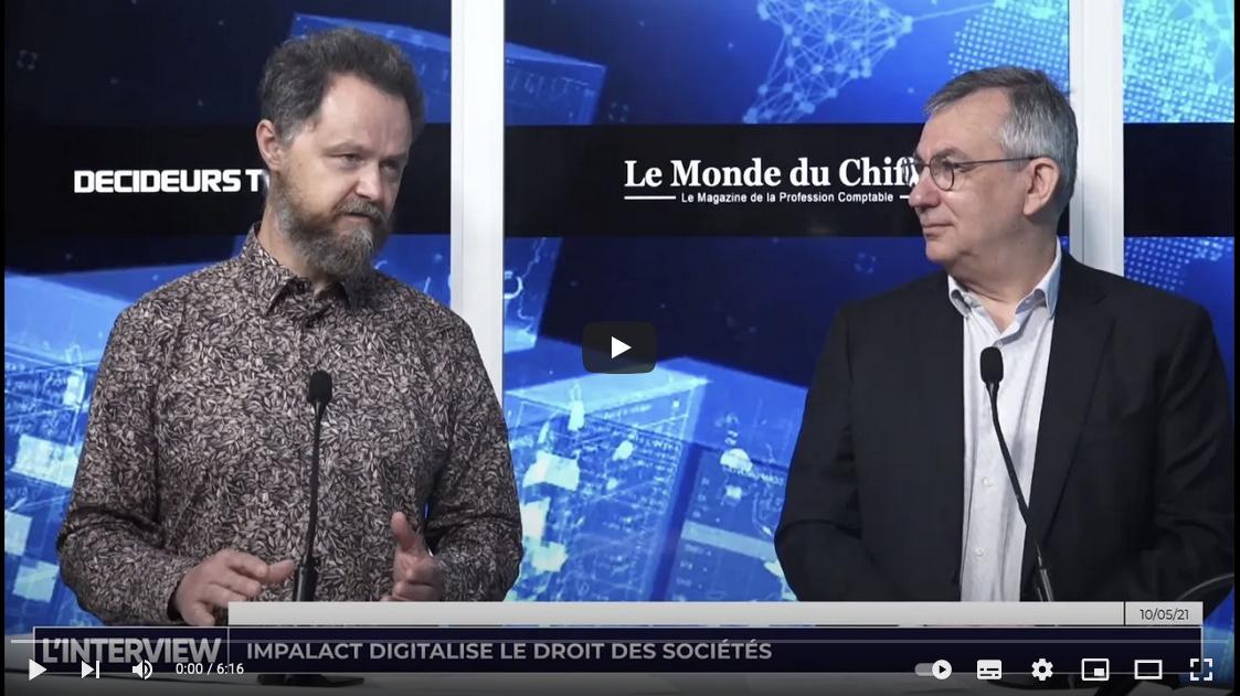 Interview Decideurs TV